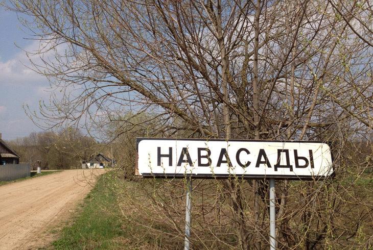 деревня Новосады весна