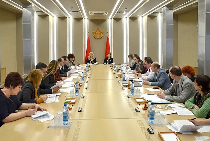 заседание рабочей группы о внесении изменений и дополнений в Закон Республики Беларусь Об авторском праве и смежных правах
