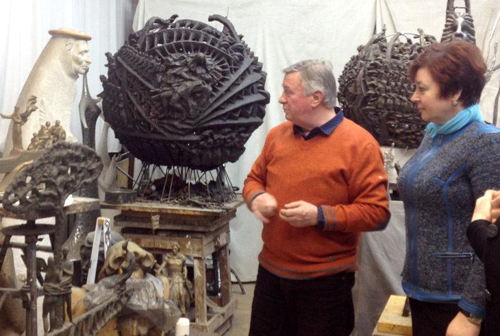 проект Пластика скульптуры в поэтических образах