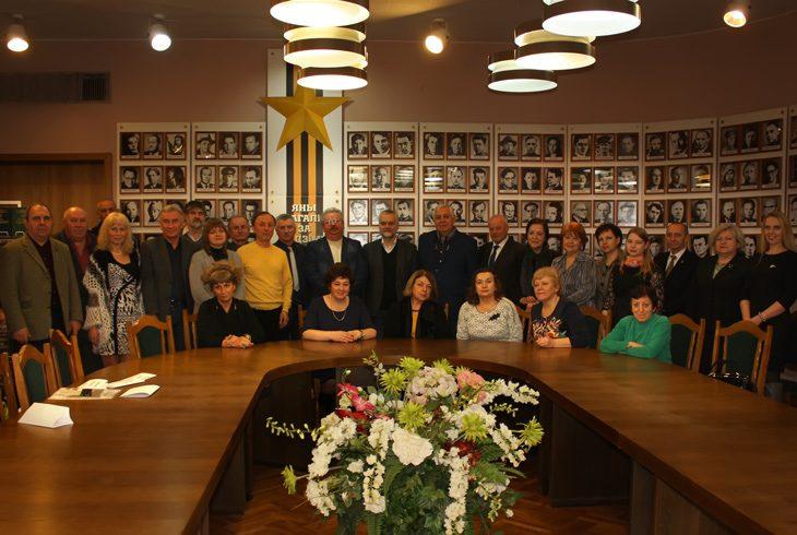 встреча с делегацией Московского литинститута в Минске Дом литераторов