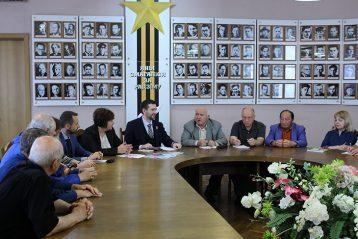 круглый стол с участием представителей Общественной Палаты Союзного Государства и членов Союза писателей Беларуси